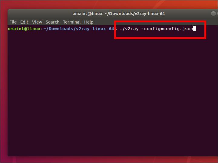 V2Ray Client on Ubuntu Linux Desktop · Umaint